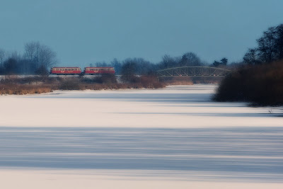 Moorexpress im Winter