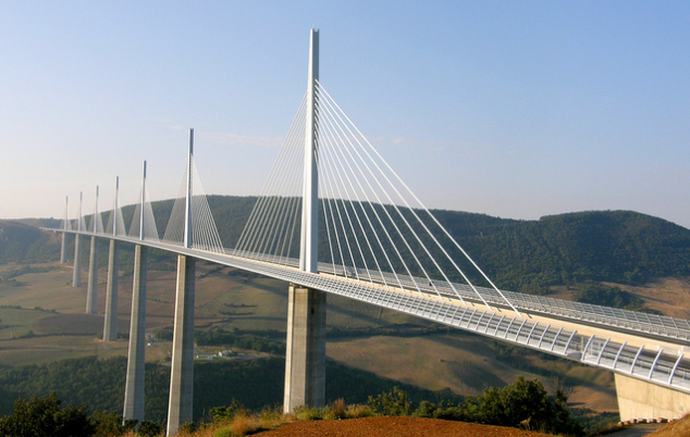 Millau Viaduct tallest bridges in the world