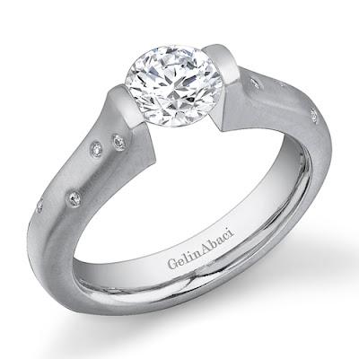 Tension Wedding Ring 10 Amazing Tension Setting Ring Gelin