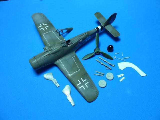 Focke Wulf Fw 190 D-9 - Academy - 1:72 - FINALIZADO! P1030495