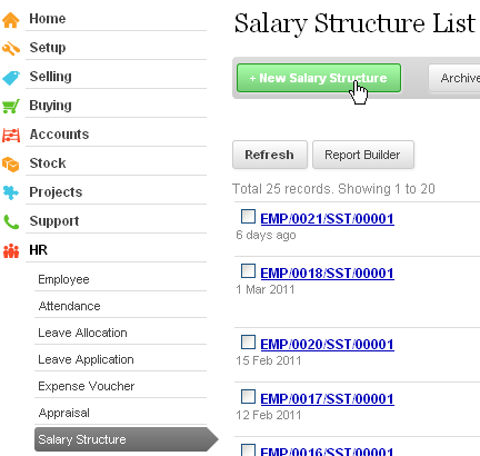 ERPNext User Manual: How to Create Salary Structure in ERPNext?