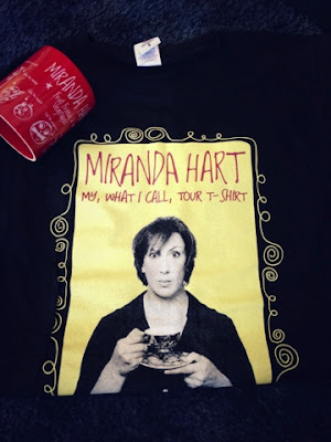 Miranda Hart's what I call tour merchandise