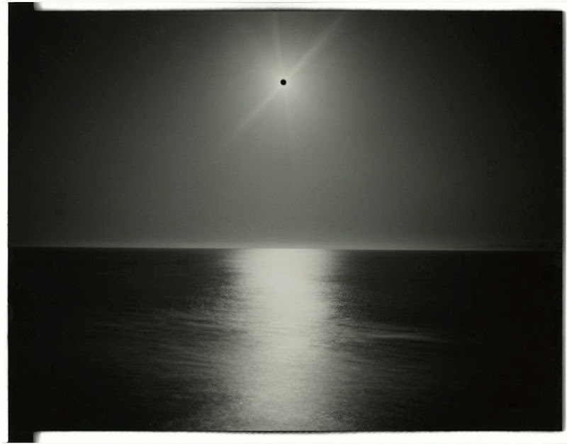 Chris McCaw - Sunburned GSP#142(Pacific Ocean)