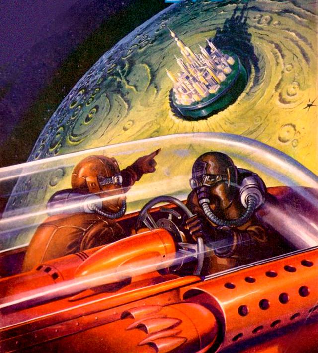Rare & Wonderful 1950s Space Art