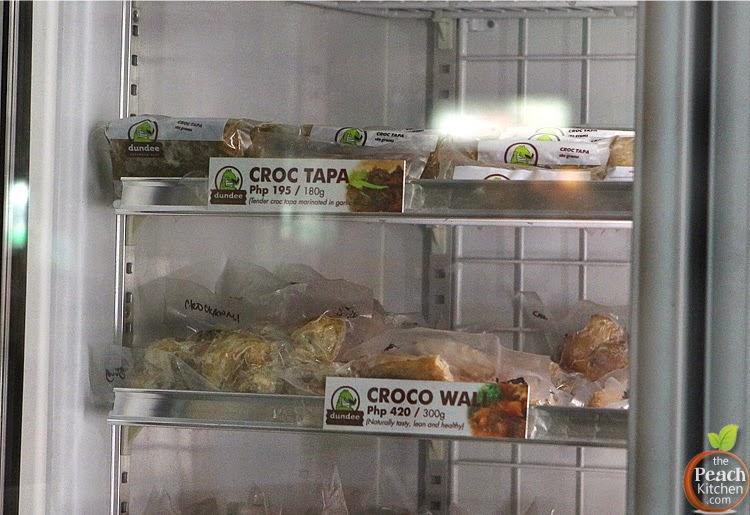Dundee Croc Tapa and Croc Sisig
