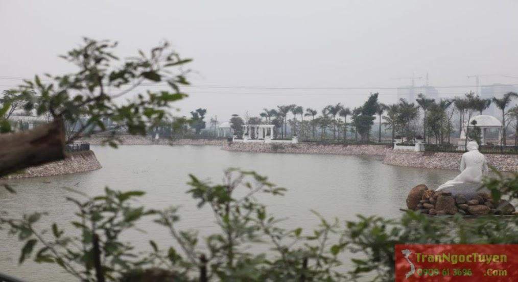 Hồ điều hòa biệt thự Vườn Cam Vinapol