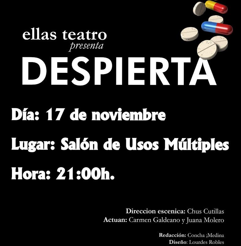 Ellas Teatro presenta: DESPIERTA