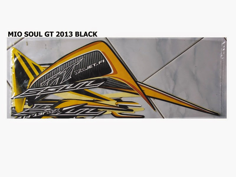 Soul Gt Modifikasi Striping