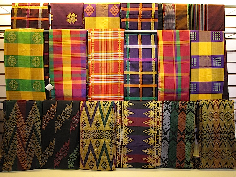 inaul malong at The Manila Collectible Co.