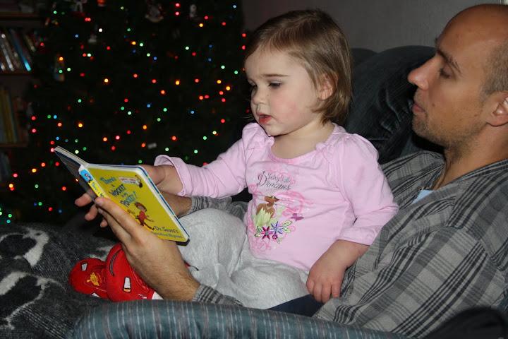 Lil Diva loves to read.