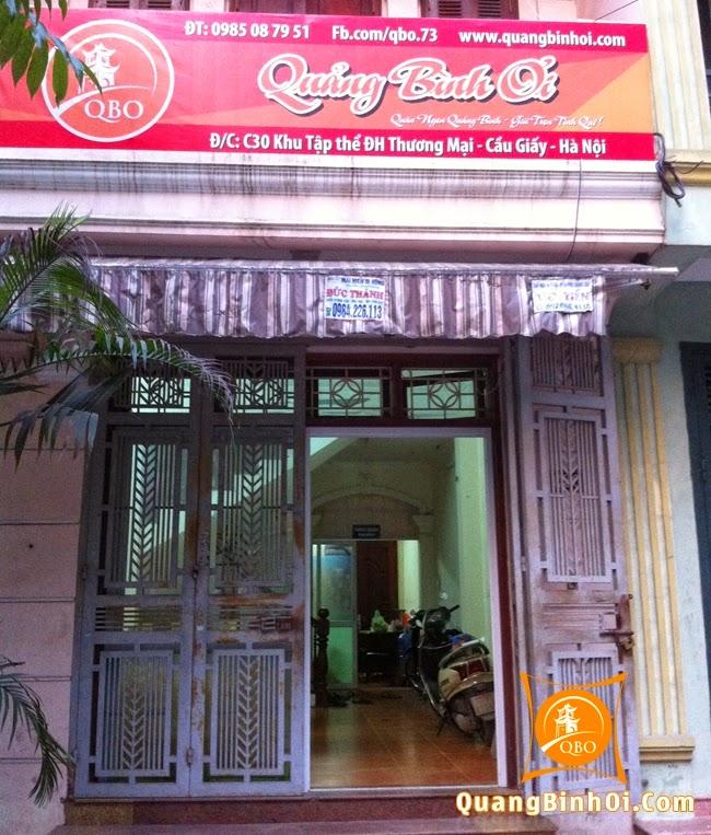 QBO - Món ngon Quảng Bình tại C30, Khu Tập Thể ĐH Thương Mại, HN