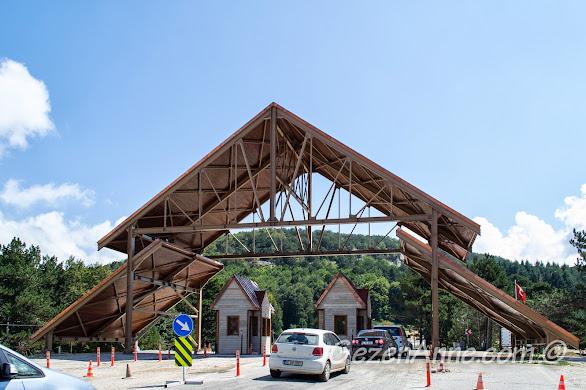 Bursa Uludağ Milli Parkı girişi