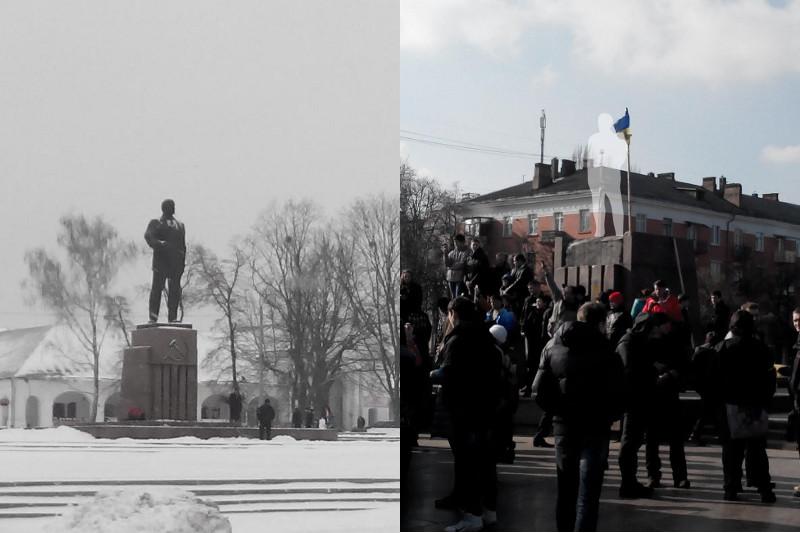 Lenin was here