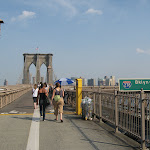 And looking back towards Brooklyn from the Manhattan entrance