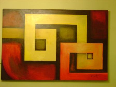 Arte minimalista y musica minimal - Cuadros abstractos minimalistas ...