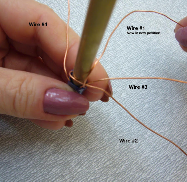 How to Weave a Tubular Wire Braid