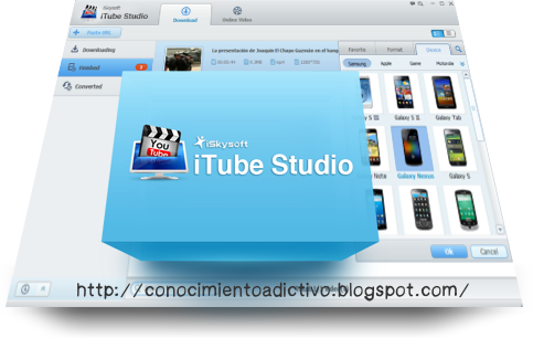 iSkysoft iTube Studio 3.8.0.3 (Windows) - Capture videos from thousands of sites