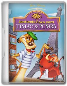 Jantando Fora Com Timão E Pumba – DVDRip AVI   Dublado