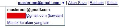Login banyak akun google dengan fitur google multiple login