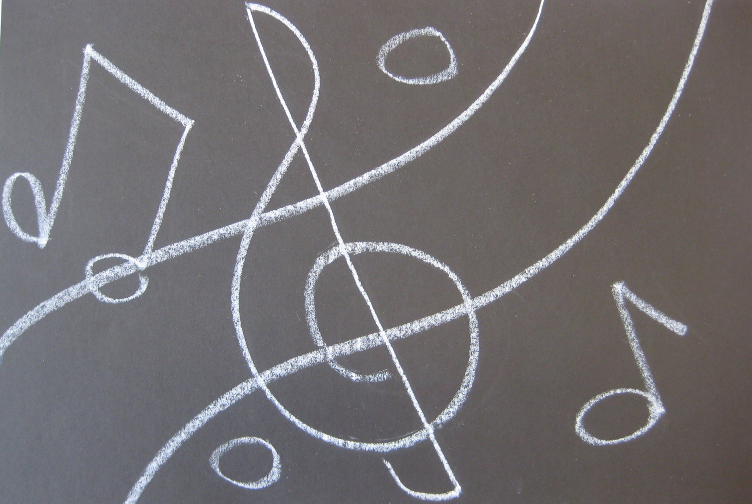 Teachkidsart an abstract musical composition for The craft of musical composition