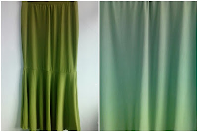 Skirt Mermaid Hijau