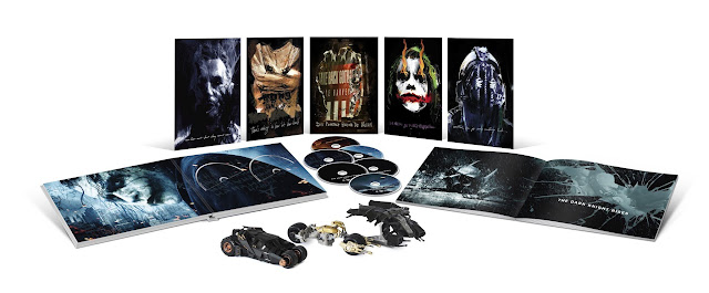 The Dark Knight Trilogy Ultimate Collector's Edition Pack Shot