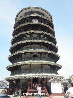 The Leaning Tower of Teluk Intan