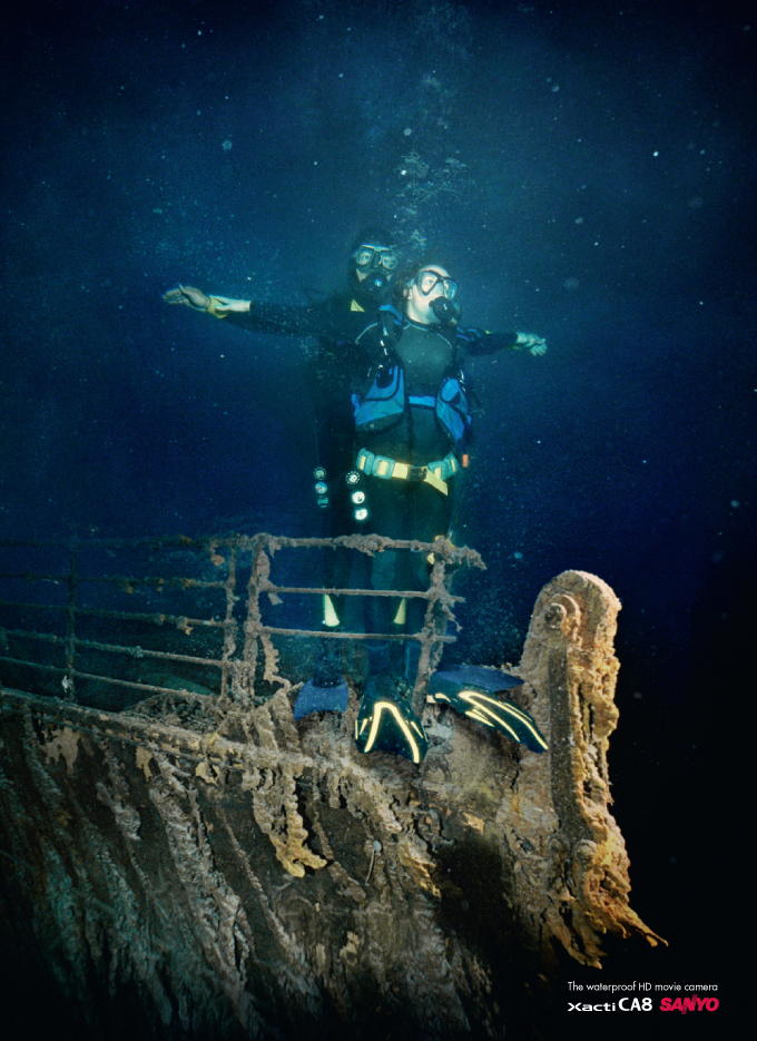 Original Real Titanic Underwater Photos | Real Titanic ...