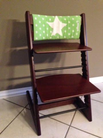 kr nchen und sternchen r ckenpolster f r tripp trapp. Black Bedroom Furniture Sets. Home Design Ideas