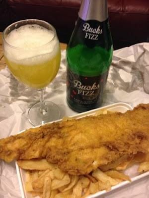 Champagne, Fish & Chips