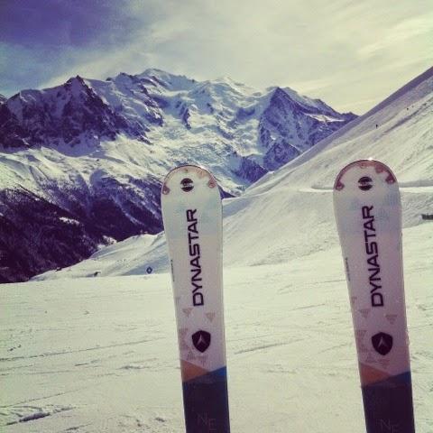 Dynastar Neva 74 Skiing in Chamonix Mont Blanc
