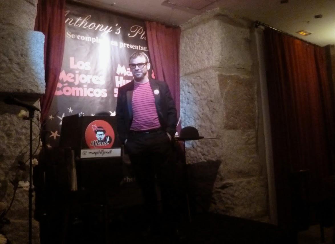 Alfonso V en restaurante Anthony's Place 2014