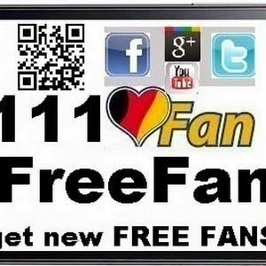 111FreeFan - Fantausch MyFreeFan Facebook Twitter G+ Youtube