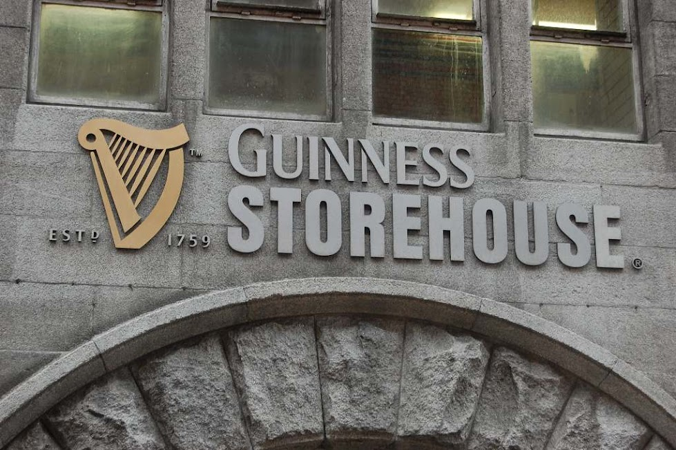 Guinness Storehouse - Eingang
