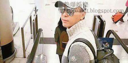 甄子丹昨在社交網上載自己往上海準備出席新片記招的相。
