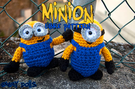 minion amigurumi free pattern despicable me