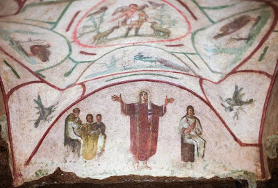 Roman catacomb fresco reopens question of female priests