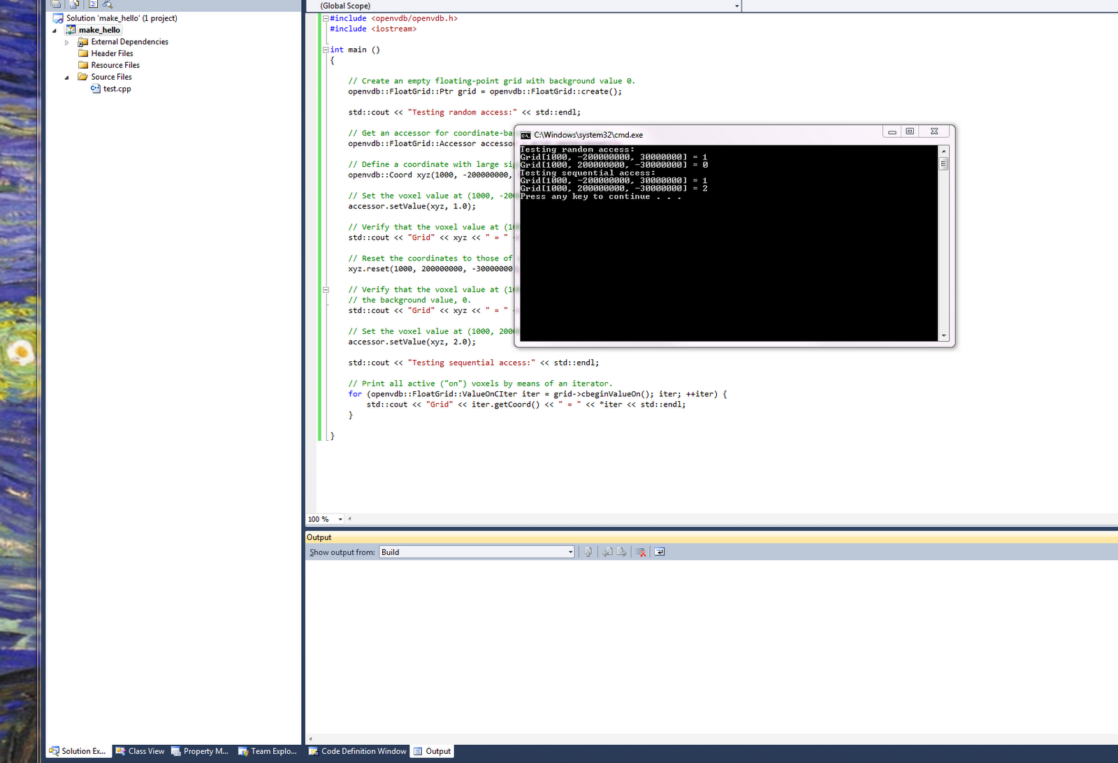 How I compiled OpenVDB Version 0 96 0 on Windows 7 using