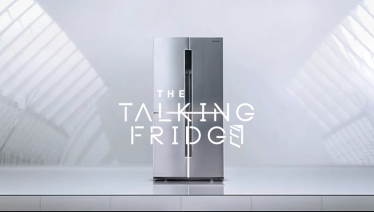 The Talking Fridge by Samsung and Cheil