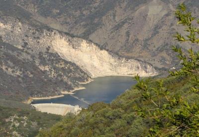 dam and lake called Gibralter