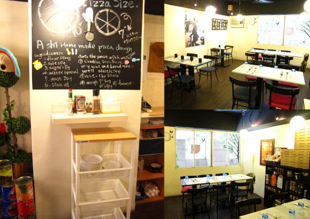 二樓還有不少留給團體客人的區域~-台中美食阿喜義大利麵