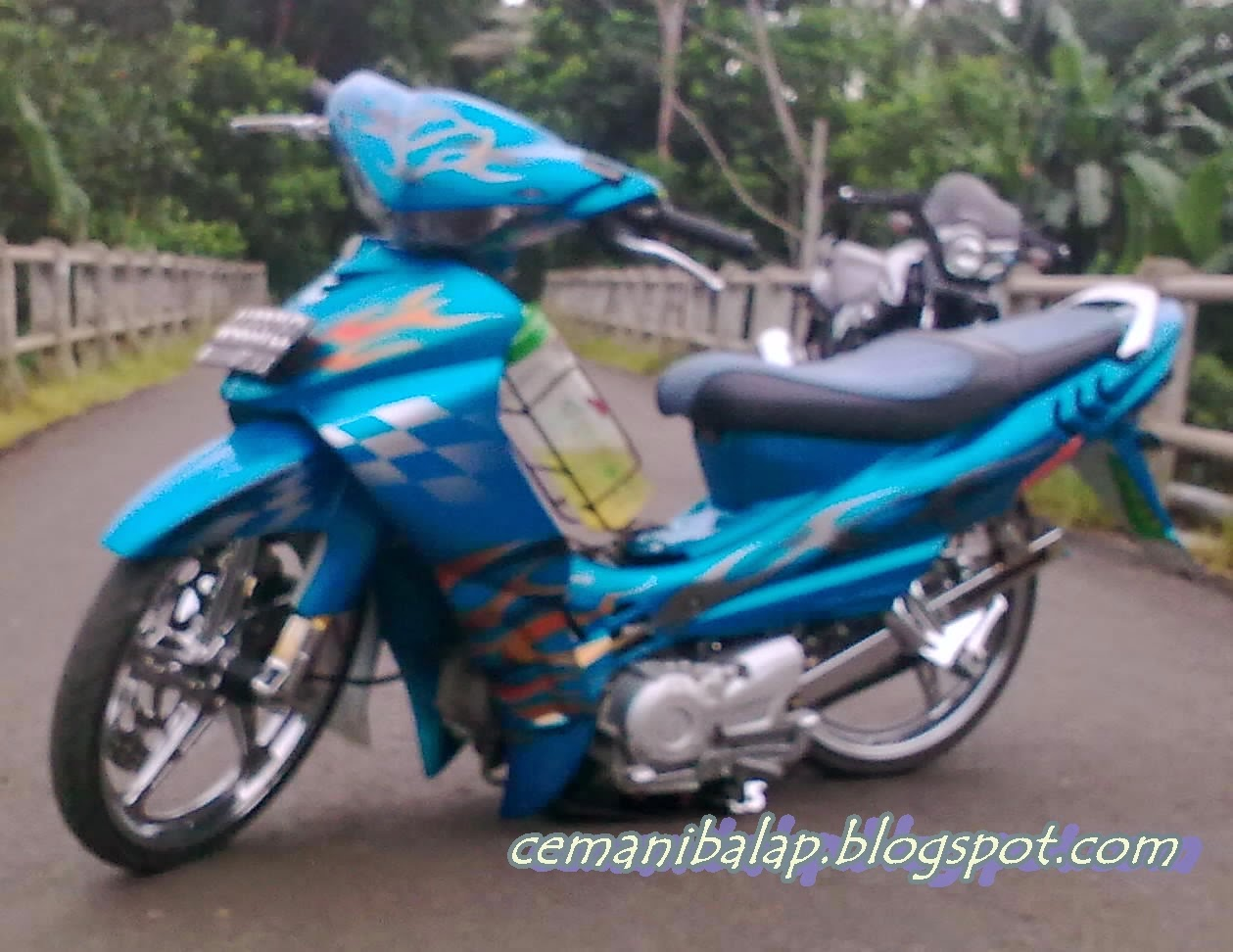 Modifikasi Jupiter Mx Ceper
