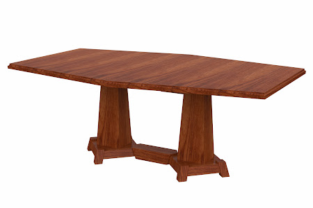 Turin Conference Table in Cascadia Cherry