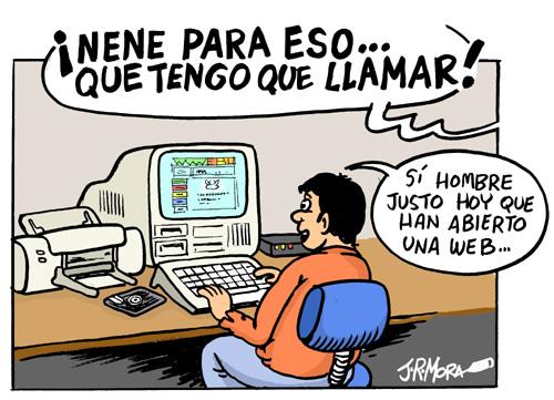 Las madres de España son las mayores fans del ADSL en casa!!!