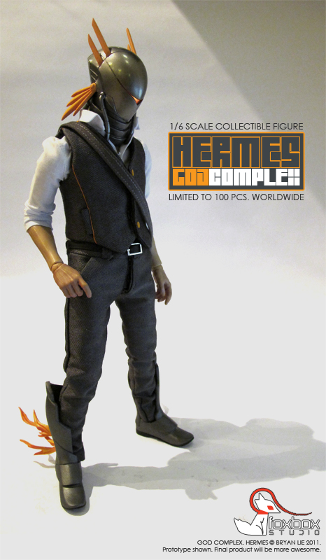 FOXBOX STUDIO - GOD COMPLEX - HERMES Hermes-01