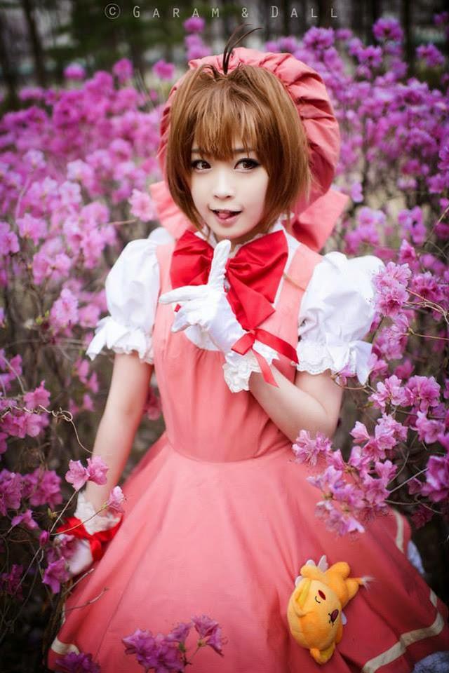 Tomia cực dễ thương với cosplay Sakura - Ảnh 4