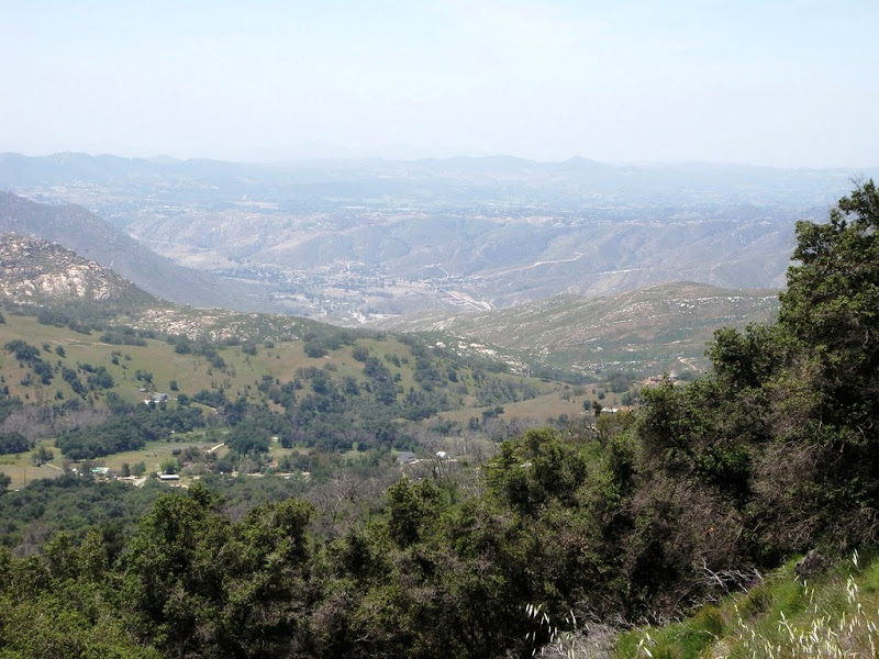 Oceanside - Palomar Mountain - Oceanside • View from South Grade Road
