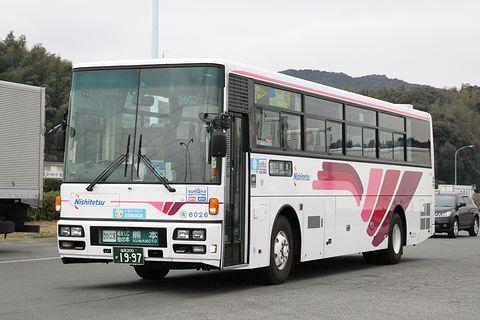 西日本鉄道「ひのくに号」 6026