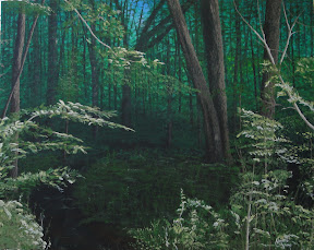 Looking in the Sacred Grove 2 - Original Painting