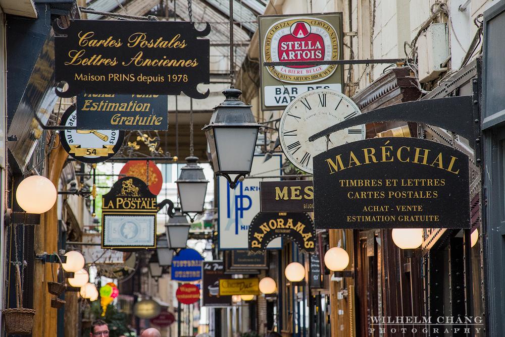 到巴黎攝影 全景廊街 Passage des Panoramas